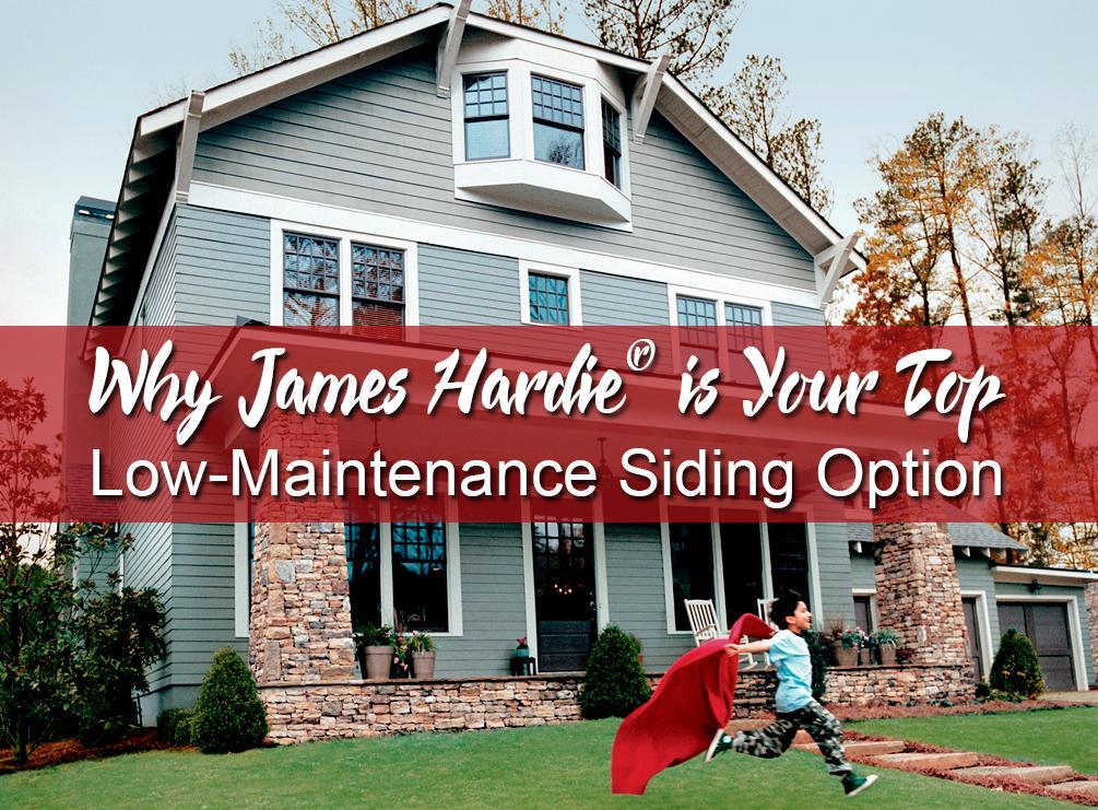 Why James Hardie 174 Is Your Top Low Maintenance Siding Option